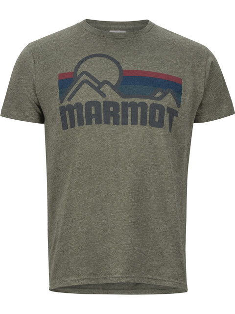 Marmot Marmot Coastal SS Tee Men Olive Heather
